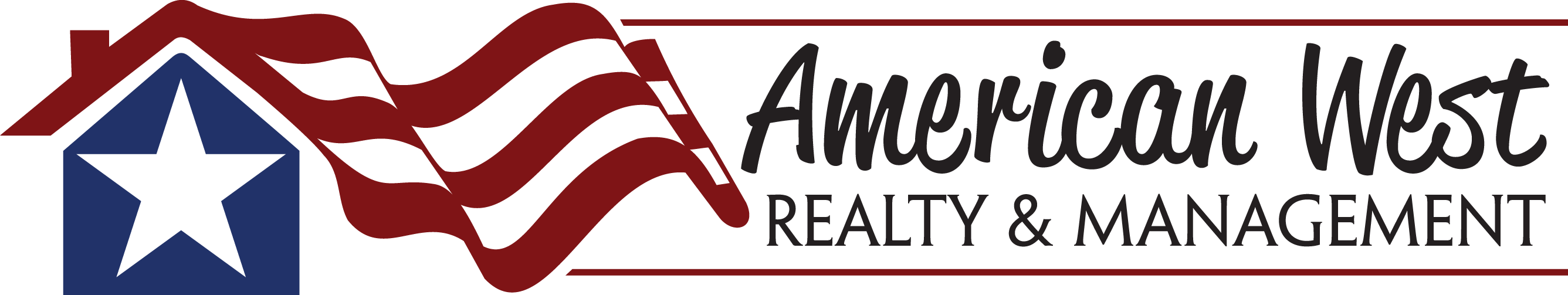 American West Realty and Management Logo